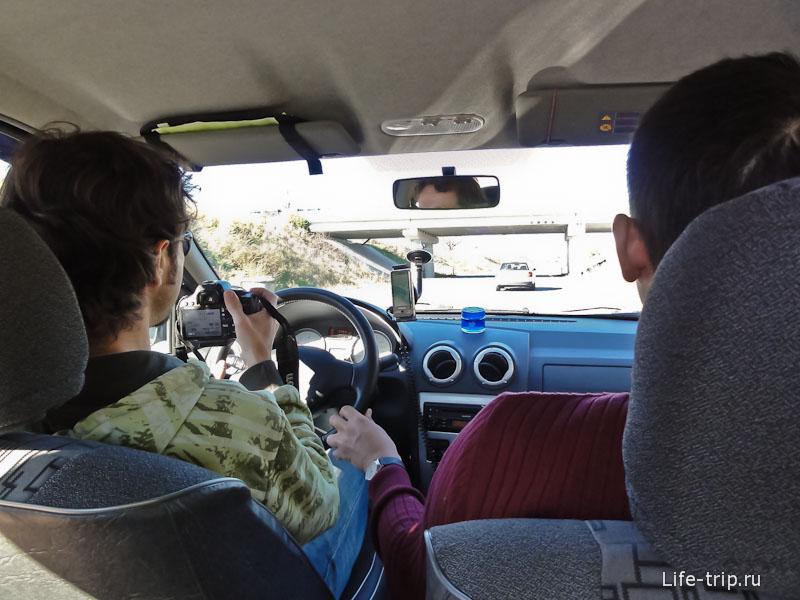 Водитель и фотограф одновременно - лучше так не делать
