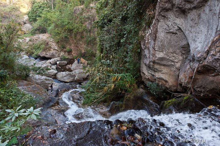 Водопад Huay Kaew в Чиангмай