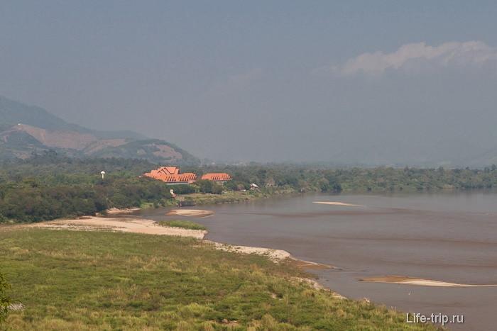 Бирма через реку Меконг