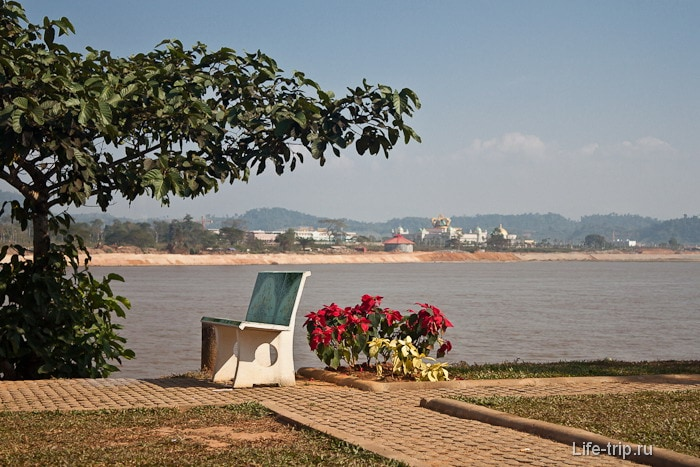 По дороге от Чианг Саен до Golden Triangle