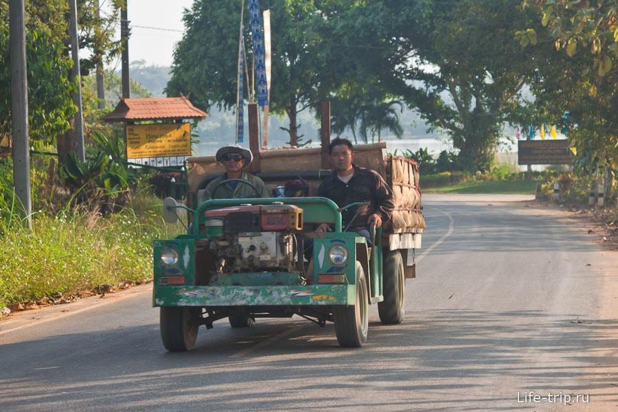 Транспорт в Чианг Саен