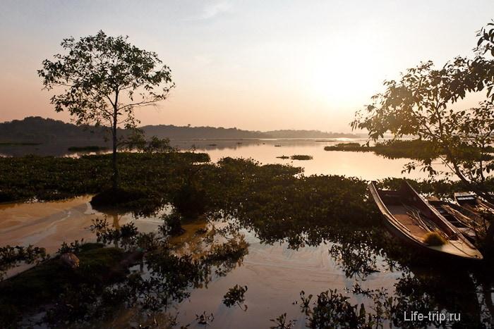 Озеро Chiang Saen Lake