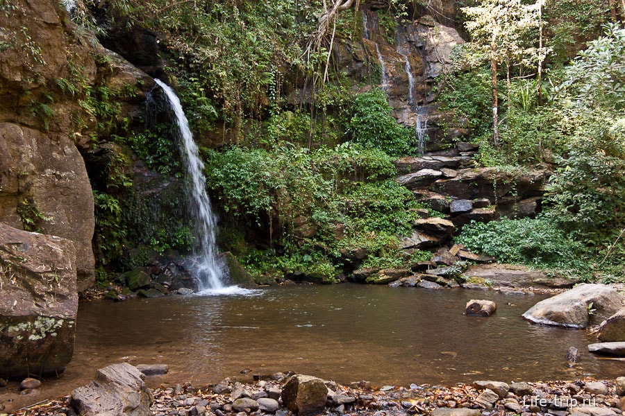 Следующий водопад после  Mon Tha Than Waterfall