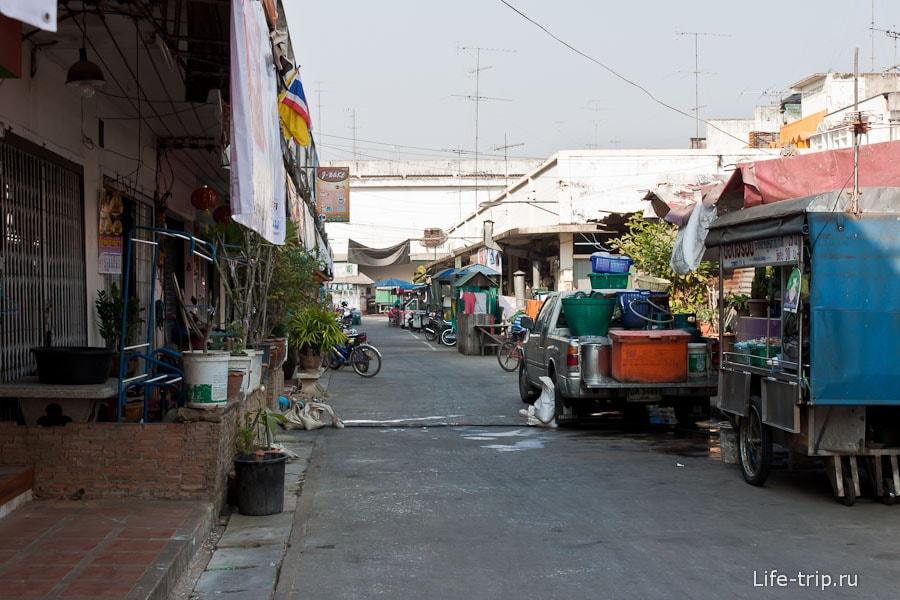 Город Сукхотай совсем обычный