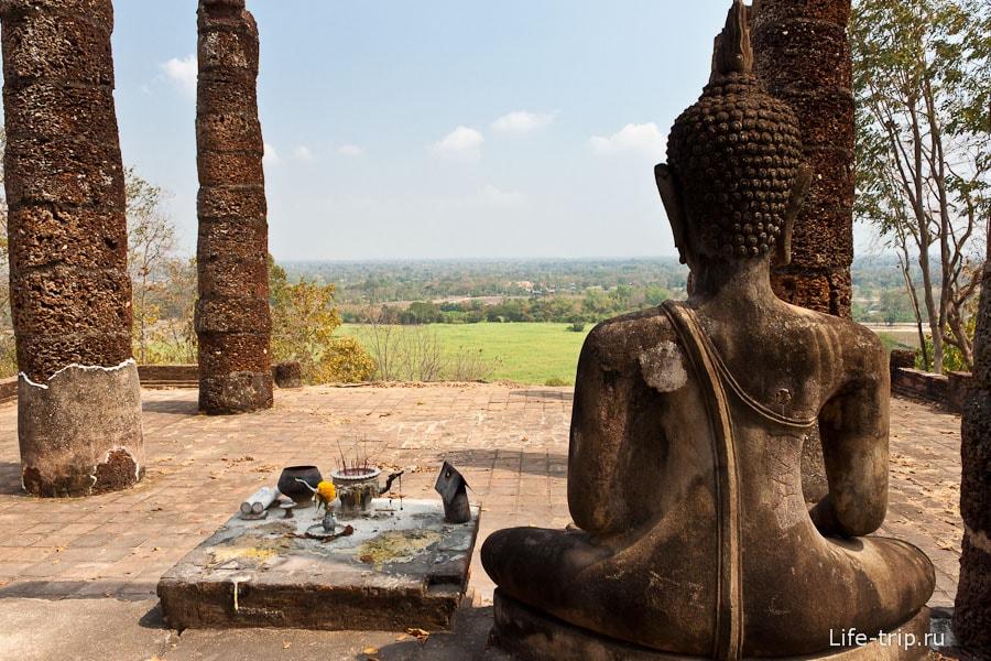 Wat Saphan Hin - виды с горы