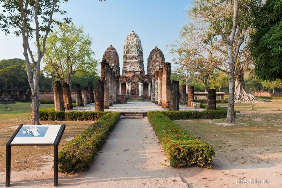 Wat Si Sawai в Сукхотай