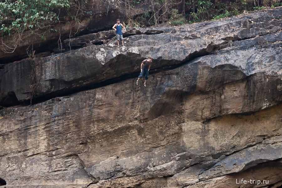 Ныряние со скалы