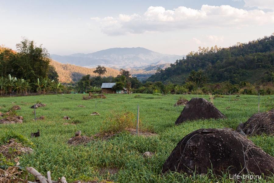 Сельские пейзажи Таиланда