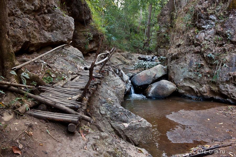 По мостикам к каньону