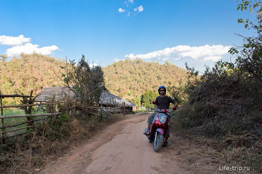 На Scoopy уезжаю в глубинку Таиланда