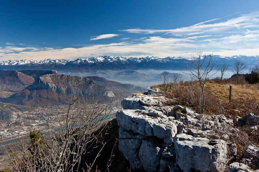 Потрясающие виды французских Альп