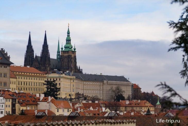 Градчаны — это целый район Праги