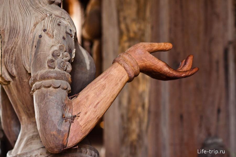 Протезы для деревянных людей