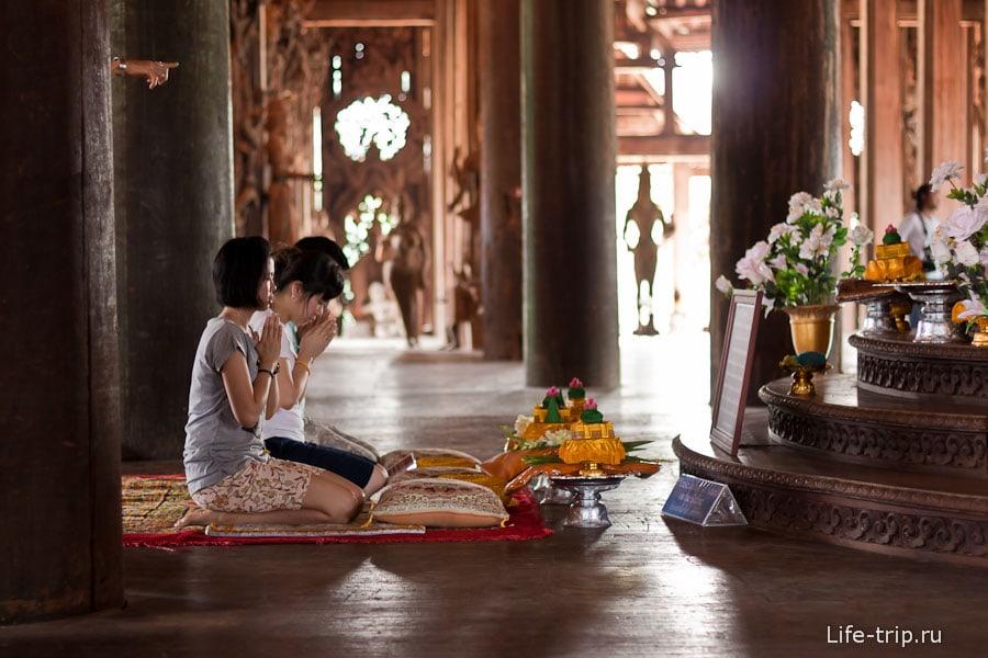 Буддисты могут вознести свои молитвы