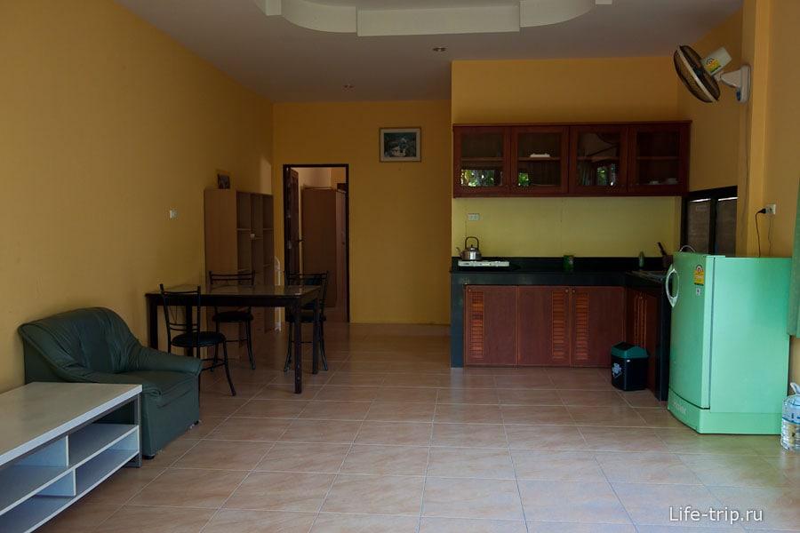 Наш дом на Пхукете - гостинная