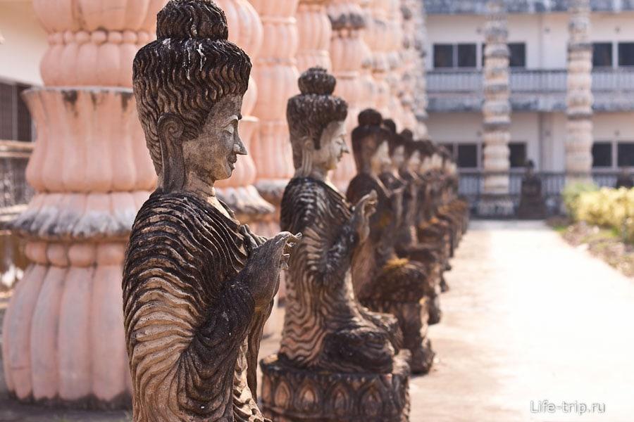Скульптурный Буддa парк Sala Keoku