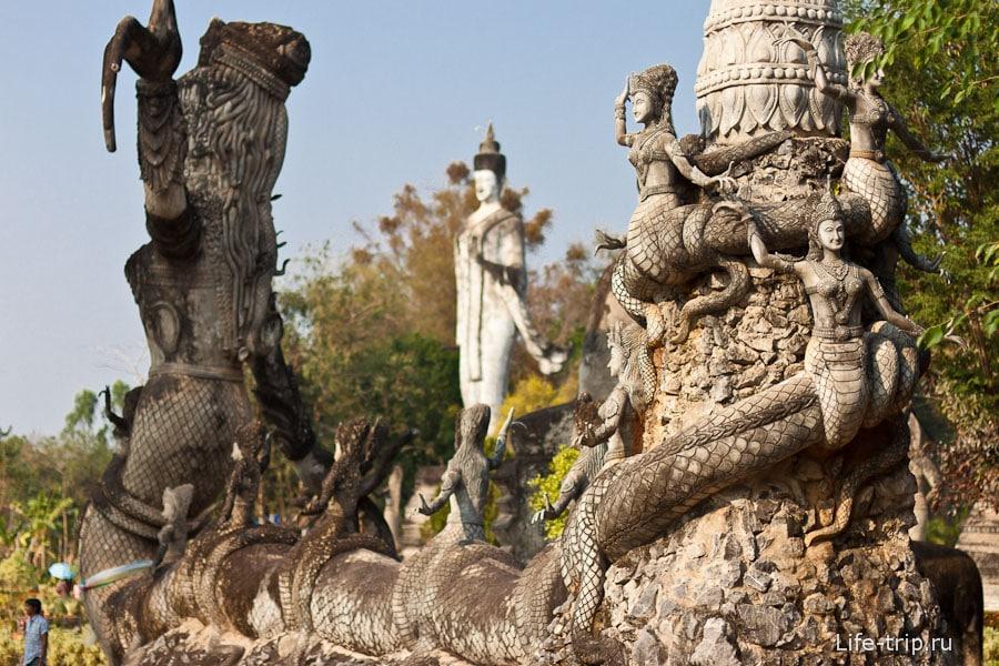 Скульптурный парк Будд Сала Кеоку