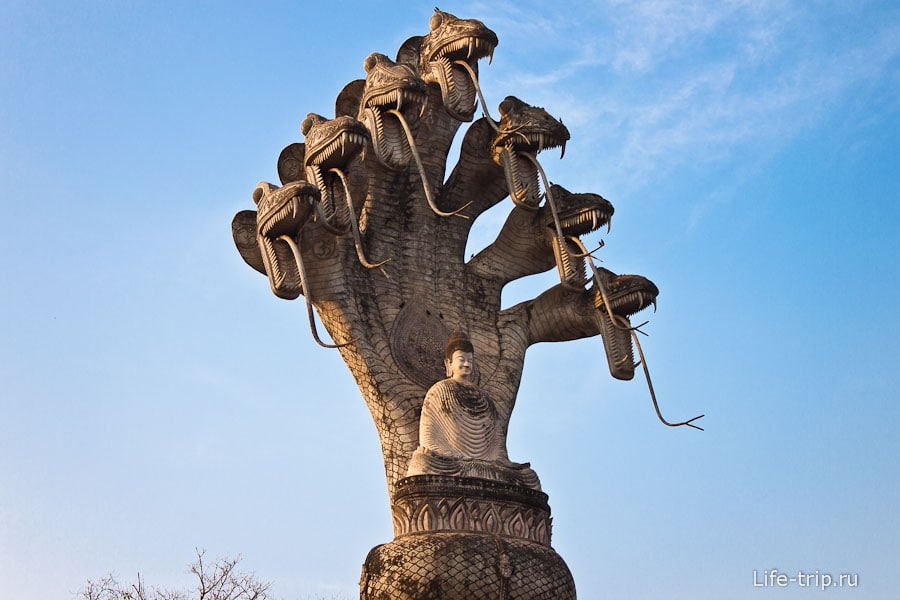 Будда парк Sala Keoku