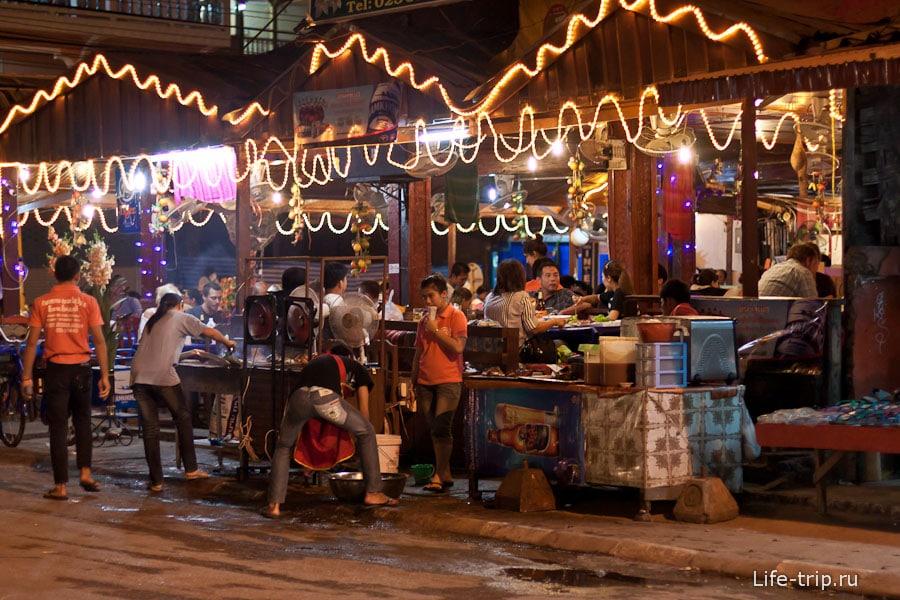 Кафе во Ванг Вьенг