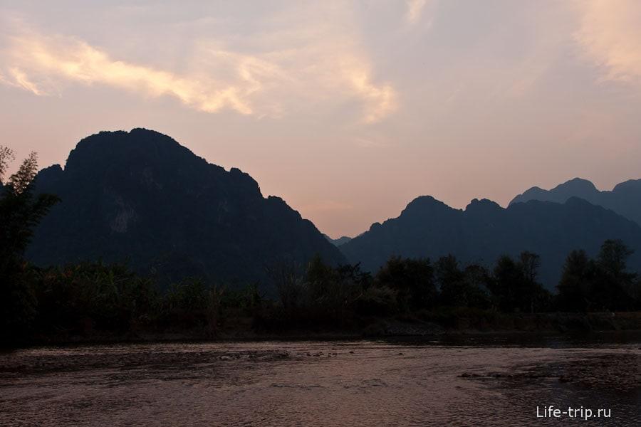 Красивые виды Ванг Вьенг