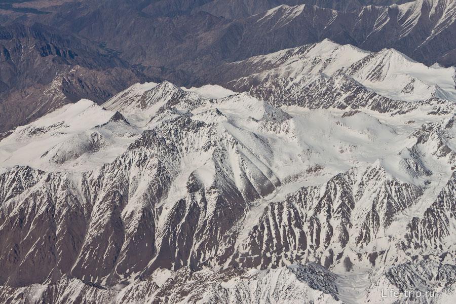 Гималаи из окна самолета