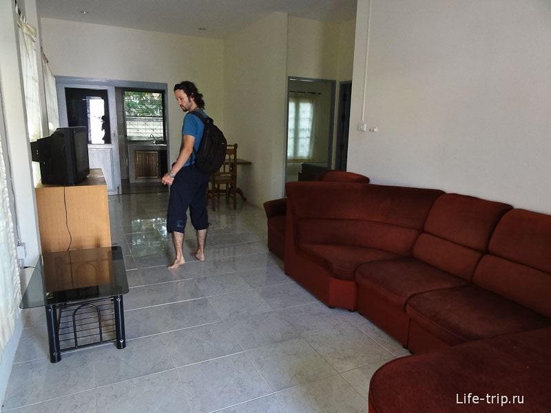 Дом за 14000 бат с тремя комнатами