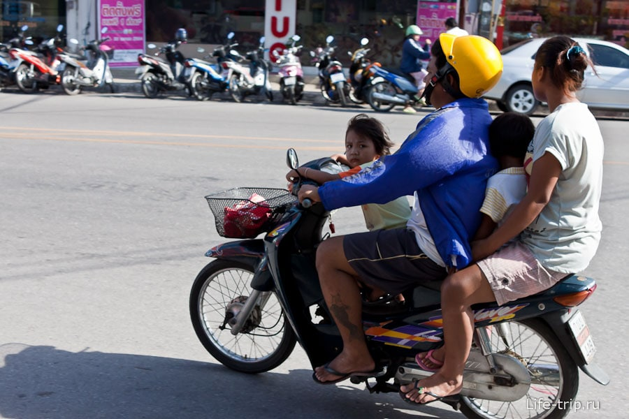 Как ездят тайцы