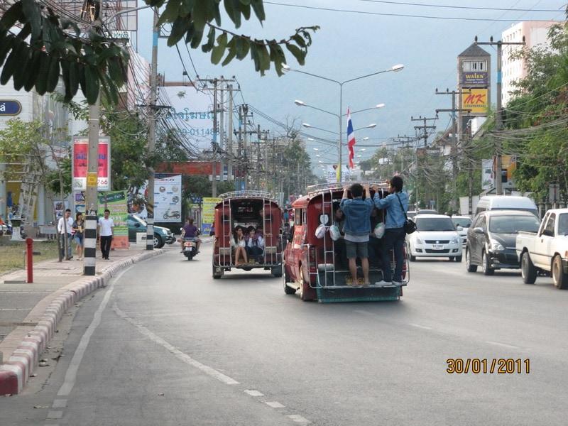 Маршрутки в Чианг Май