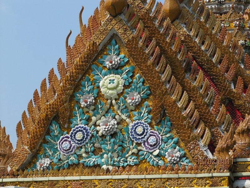 Облицовка тайского храма