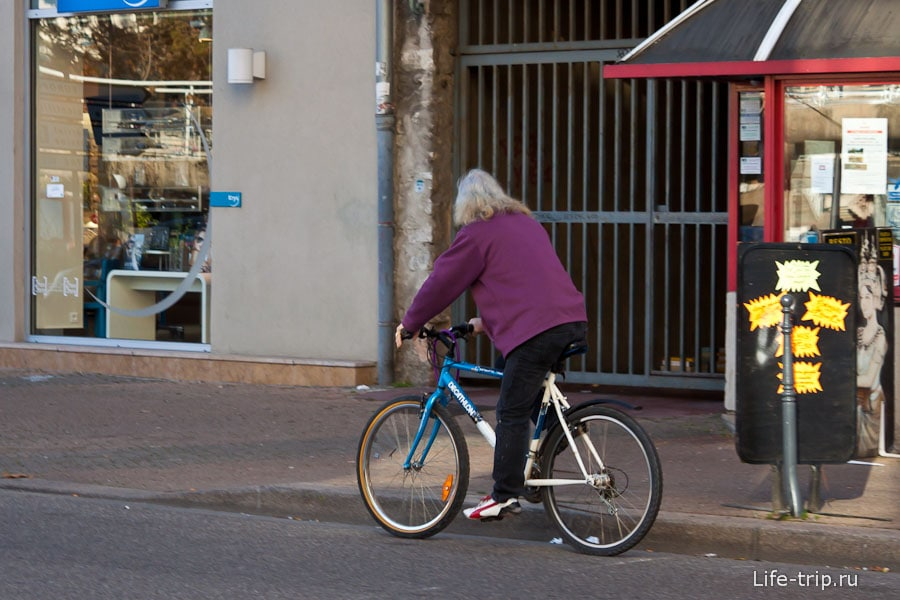 Пожилое поколение во Франции