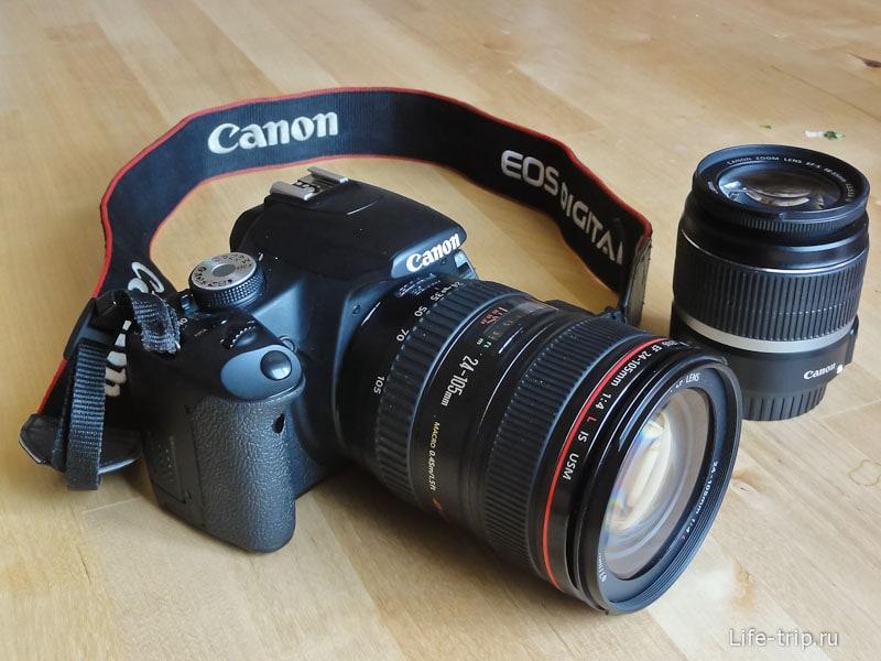 Наш новый объектив Canon 24-105L