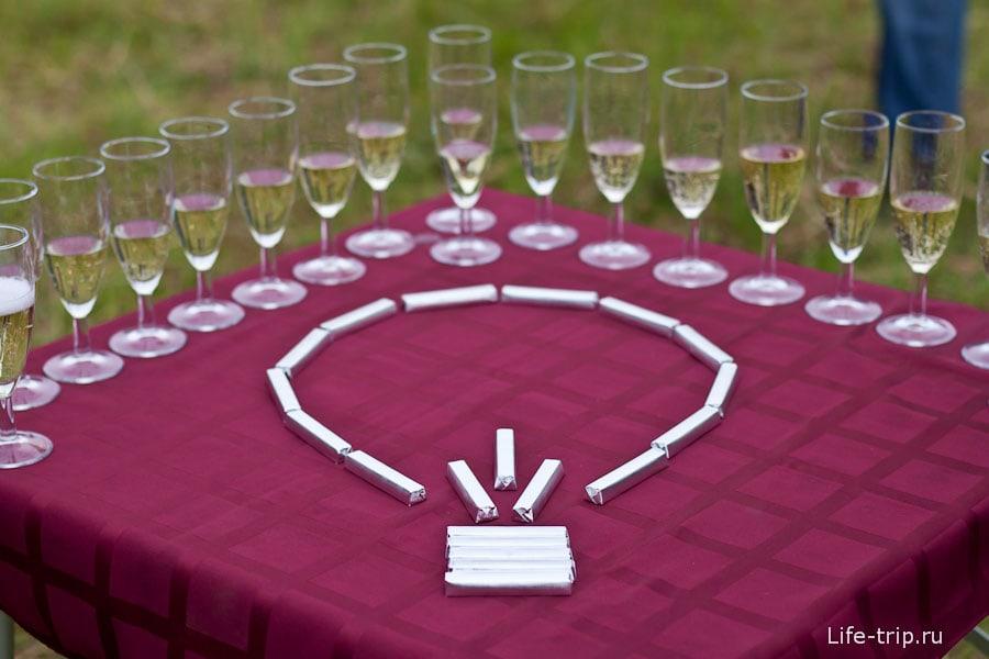 Шампанское после полета