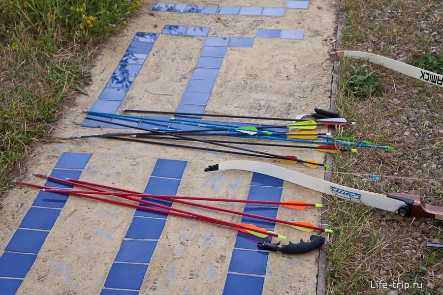 Наши стрелы и луки