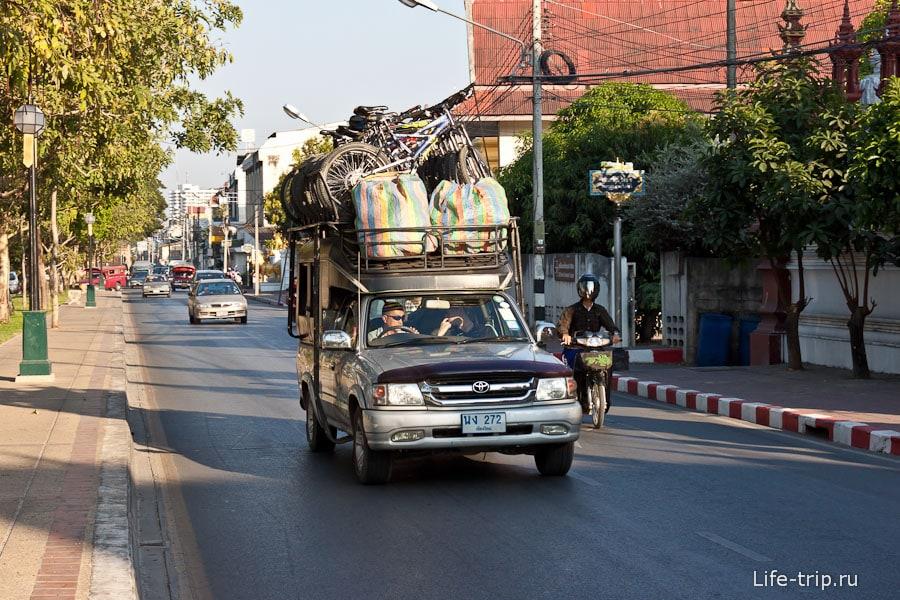 Пикапы в Таиланде