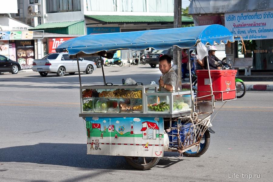 Фруктовая макашница - байк и коляска