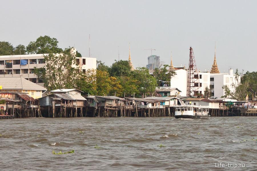 Речной канал в Бангкоке