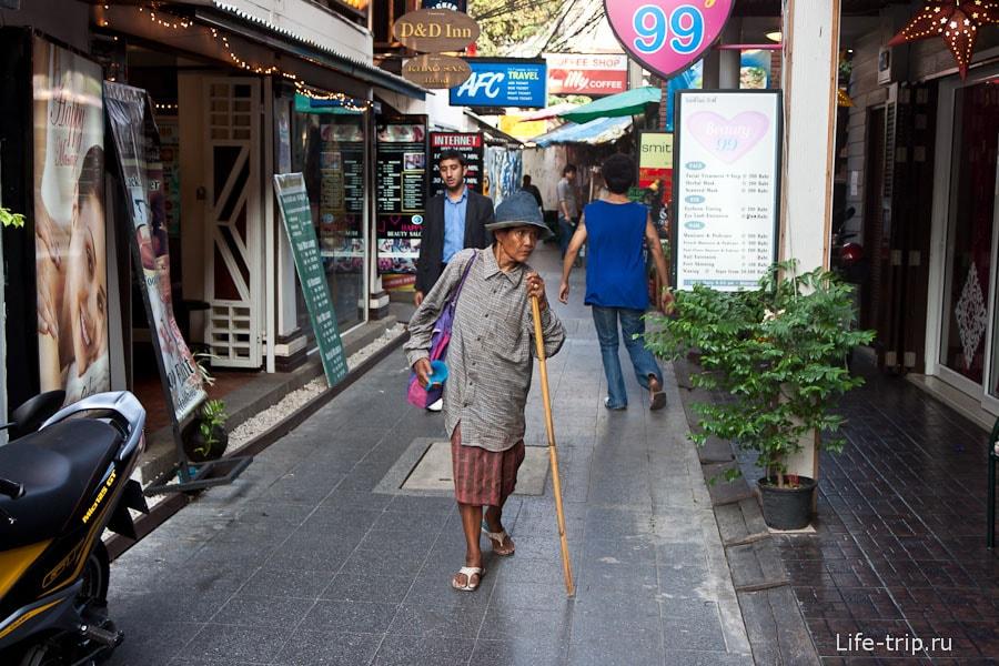 Узкие улочки Бангкока