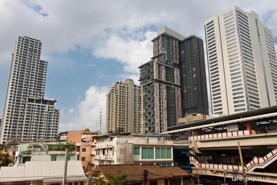 Современные здания в Бангкоке
