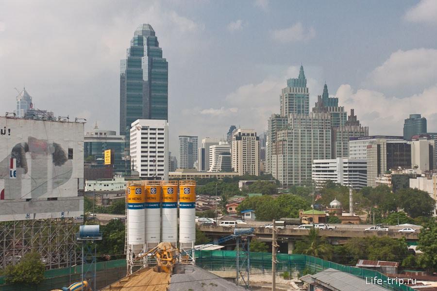 Небоскребы в Бангкоке