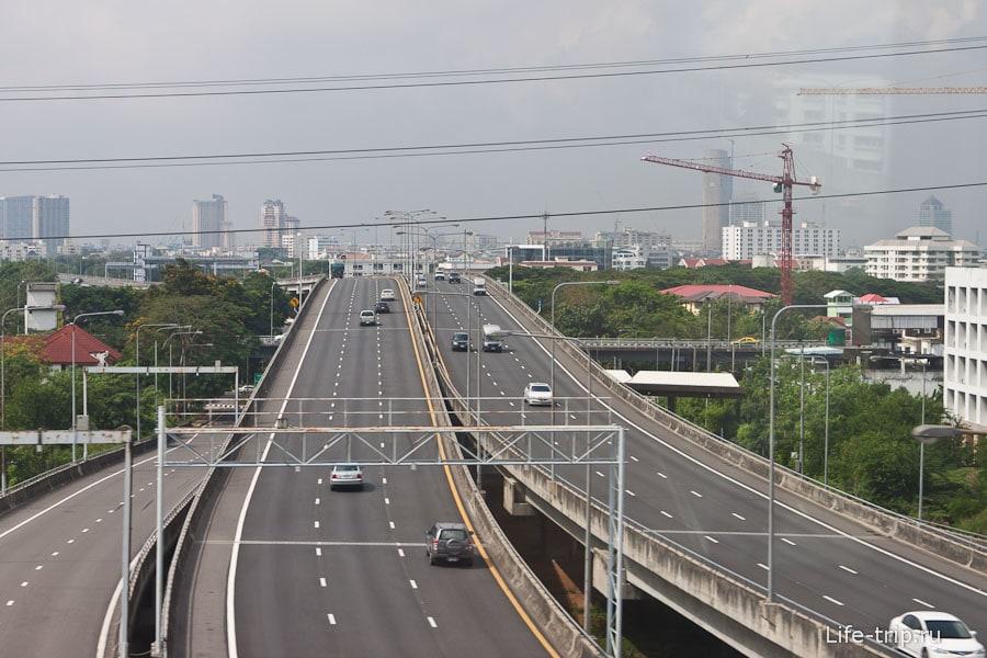 Многоуровневые развязки в Бангкоке