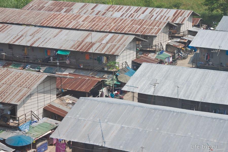 Трущобы в Бангкоке ближе к окраине