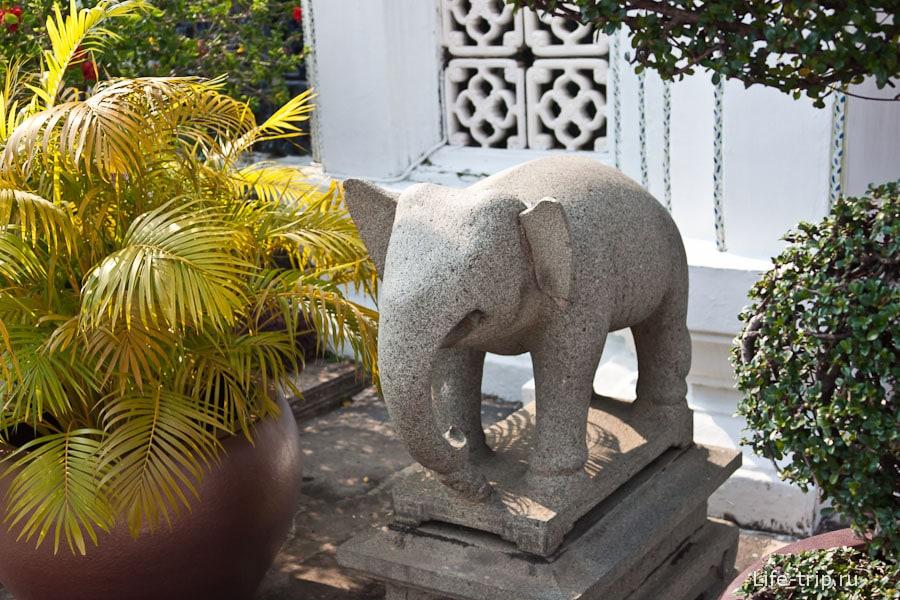 Слон без глаз