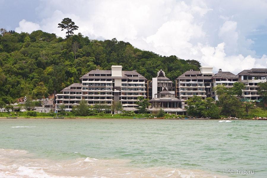 Отель вроде бы нерабочий