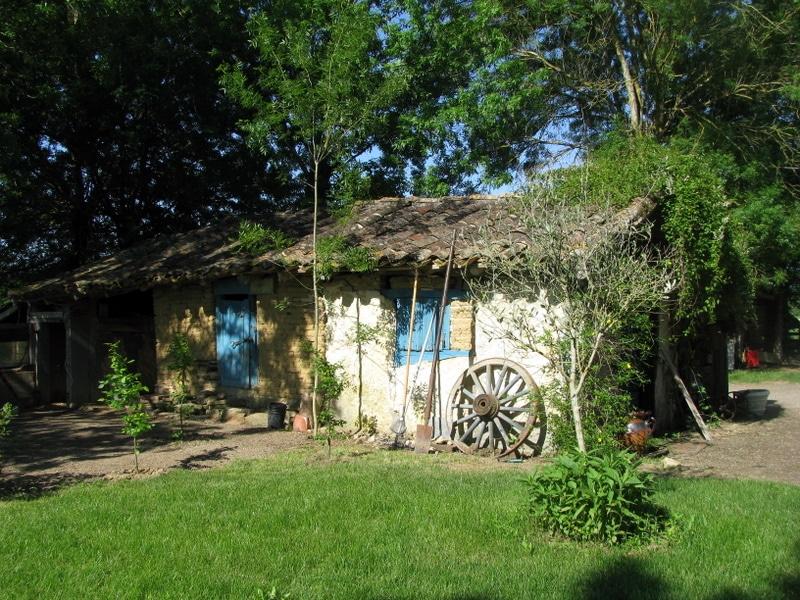 Очень уютный домик наших французских друзей