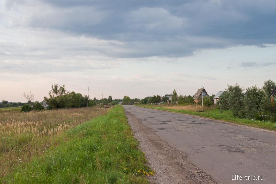 По дороге в поселение