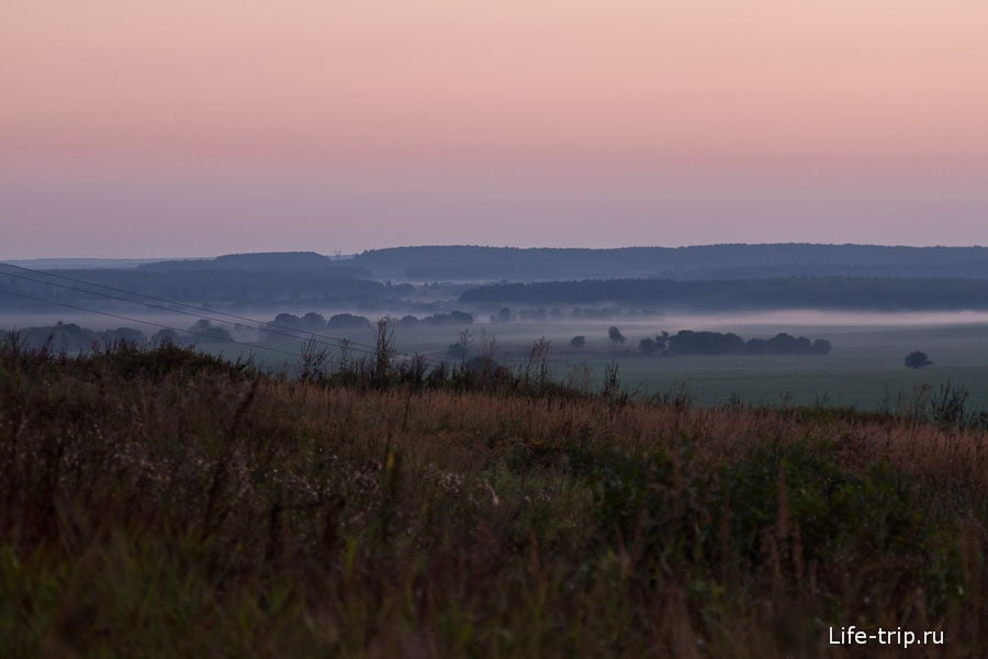 Туманы в 6 утра