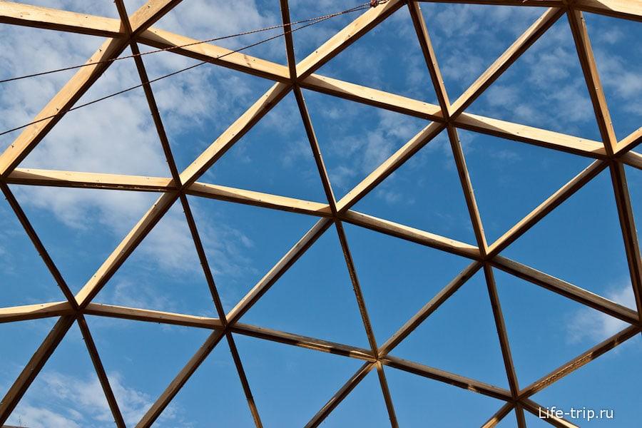 Будущий дом-купол