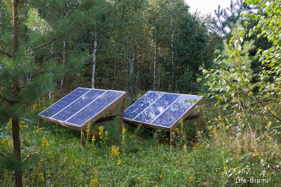 Солнечные батареи для электричества