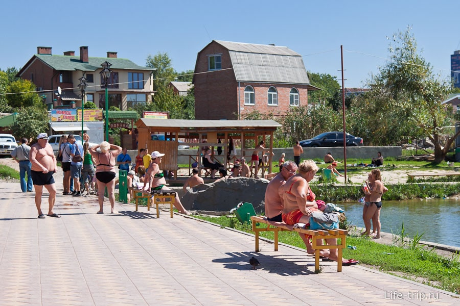 Пляжники Ростова