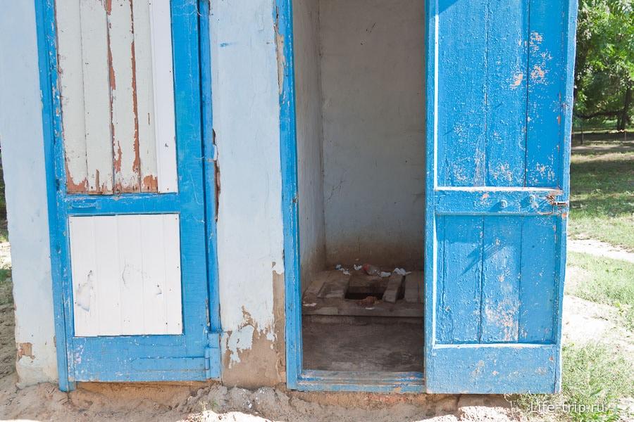 Одна из проблем города - отсутствие туалетов
